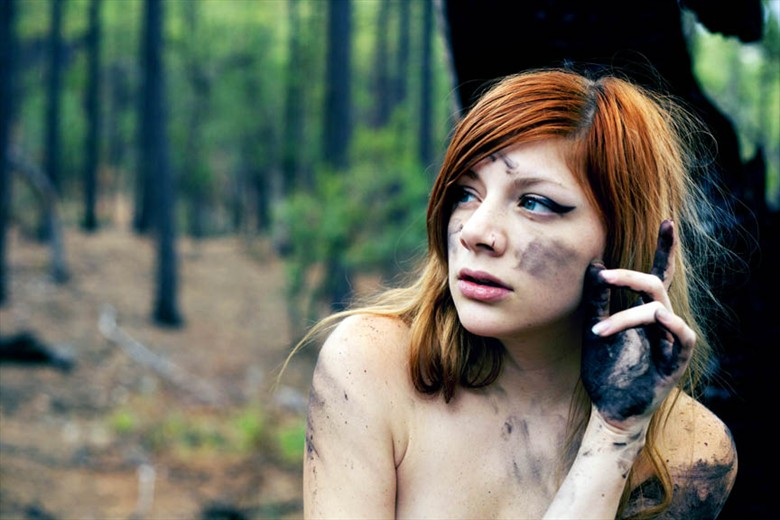 Burnt  Nature Photo by Model Miss Robot