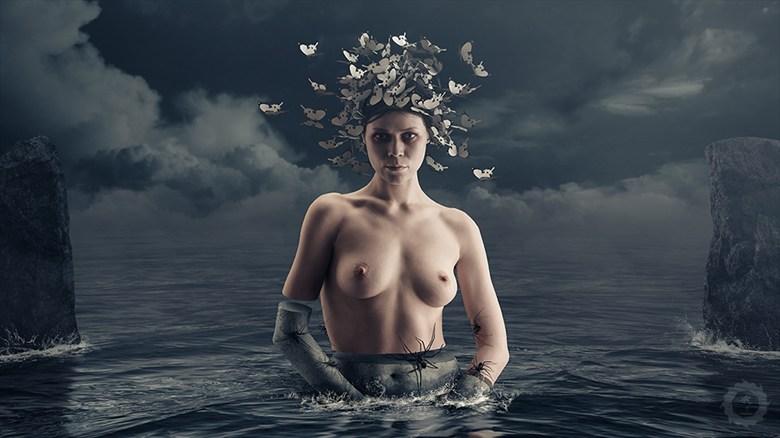 Butterflies Artistic Nude Artwork by Photographer RAichy