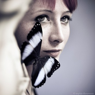Butterfly Sensual Photo by Photographer sophie thouvenin