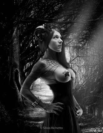 By Silvio Richetto Tattoos Artwork by Model Missdemeanor13