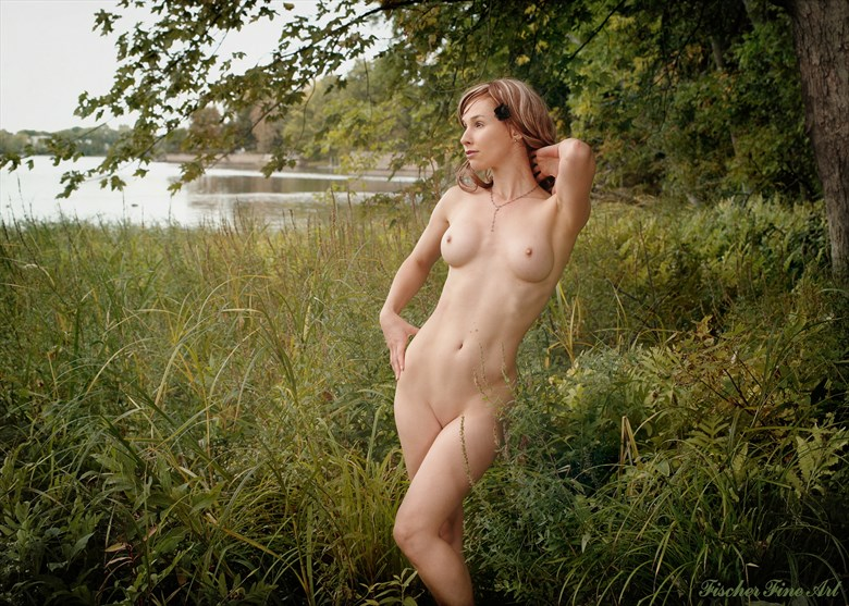 By the river Artistic Nude Photo by Photographer Fischer Fine Art