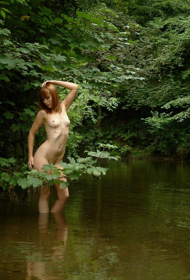 By the riverbank Artistic Nude Photo by Photographer Light is Art