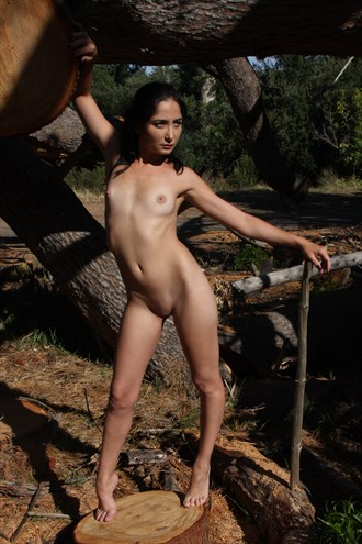 By the trees Artistic Nude Photo by Photographer PIXbyGrant