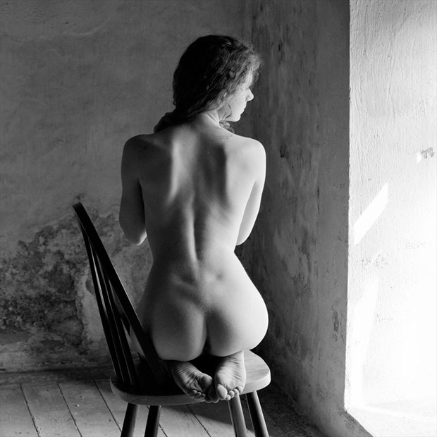 By the window Artistic Nude Photo by Photographer Mike Brown