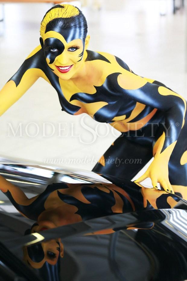 CAR SHOW II Fantasy Artwork by Artist Bodypaint D%C3%BCsterwald
