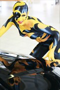 CAR SHOW II Fantasy Artwork by Artist Bodypaint D%C3%BCsterwald