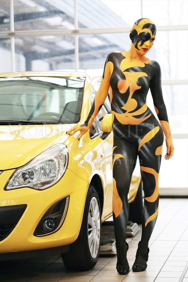 CAR SHOW X Fantasy Artwork by Artist Bodypaint D%C3%BCsterwald