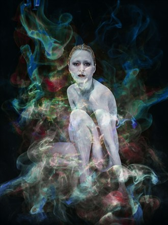 Caesium Experimental Artwork by Artist Jeff Robb