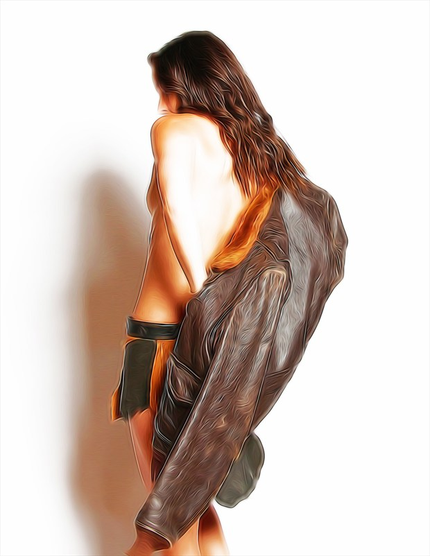Cailyn 02 Artistic Nude Artwork by Photographer Voudeaux