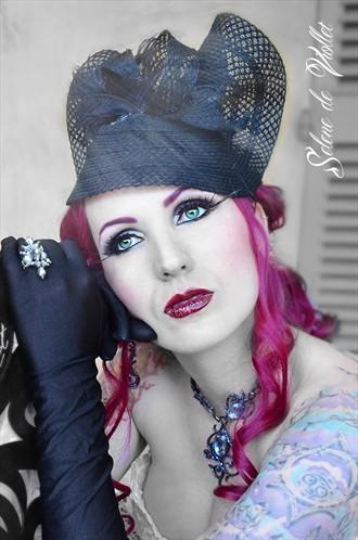 Camellia Tattoos Photo by Model Selene de Viollet