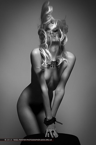 Candice 1 Artistic Nude Photo by Photographer Nigel Painter