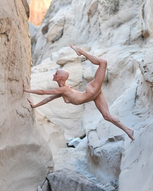 Canyon Dance of the Bighorn Artistic Nude Photo by Photographer Alan H Bruce
