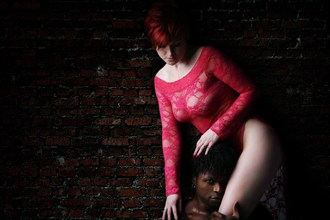 Caress Lingerie Photo by Model Laura J Draycon