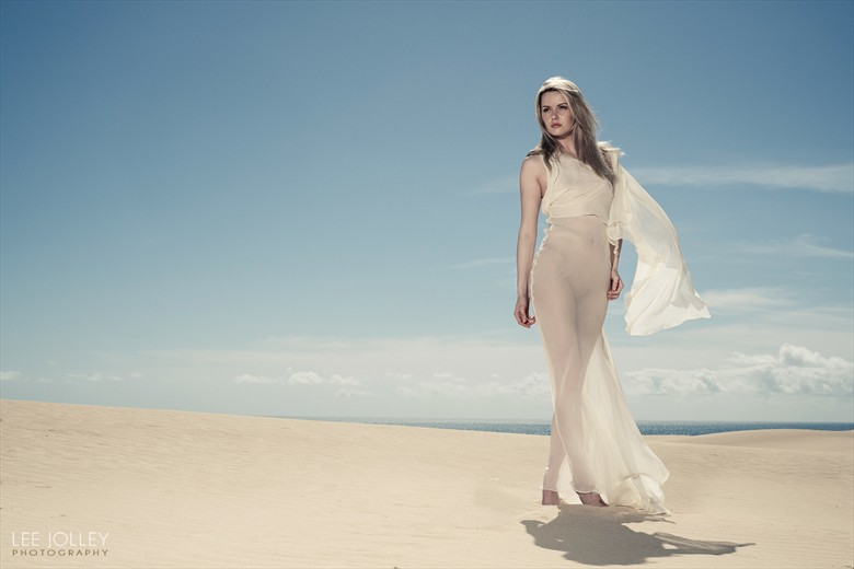 Carla Monaco on the dunes Nature Photo by Photographer leejolley
