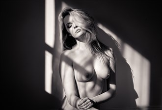 Carla in the window light and shadows Artistic Nude Photo by Photographer Richard Spurdens