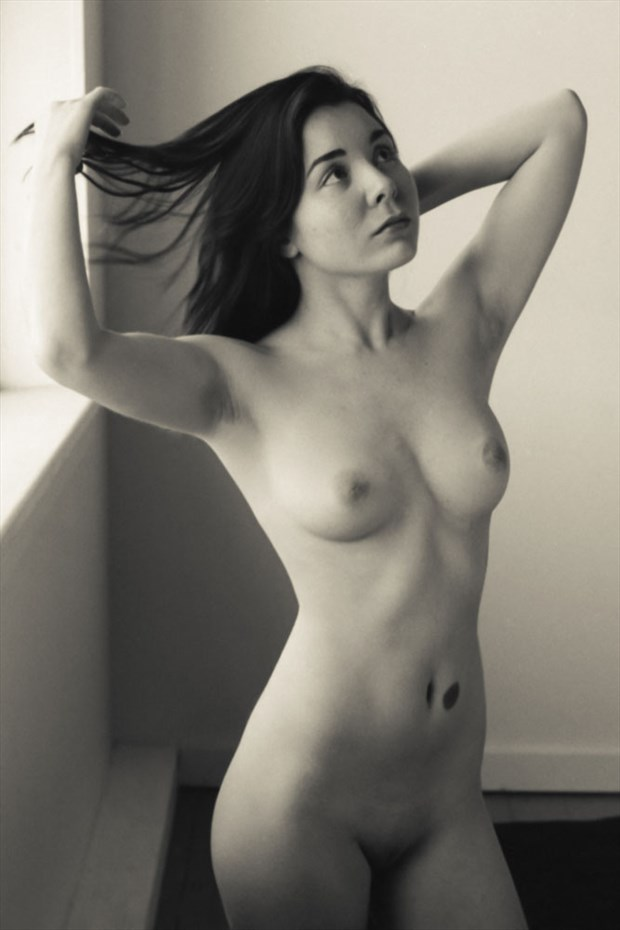 Caroline_Fingers Through Hair Artistic Nude Photo by Photographer JRappphotog2012