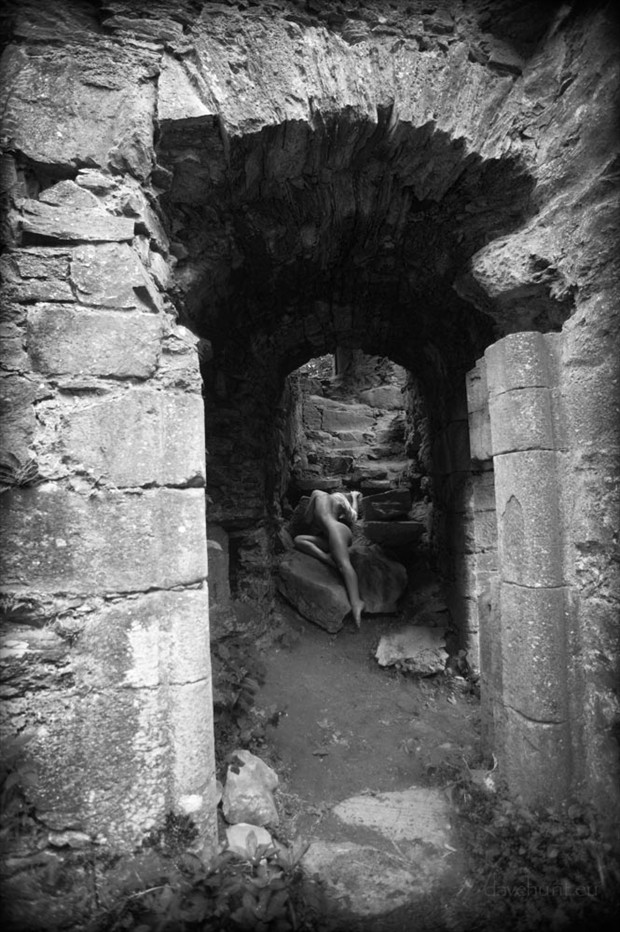 Castle Archway Artistic Nude Photo by Photographer Dave Hunt