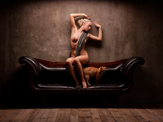 Cat woman Artistic Nude Photo by Photographer Rytter Photography