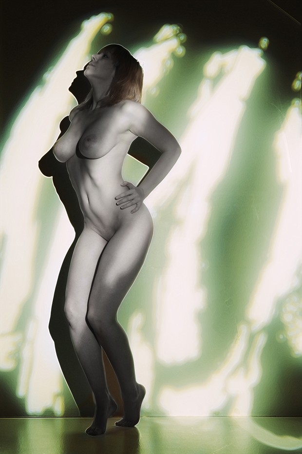 Caught In the Light Artistic Nude Photo by Photographer Mark Bigelow