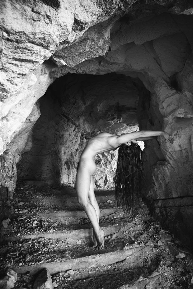 Cave Woman Dance Artistic Nude Photo by Photographer MickeySchwartz