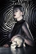 Celeste, de geheime diamant DeBeers Artistic Nude Photo by Photographer Dick Laurent
