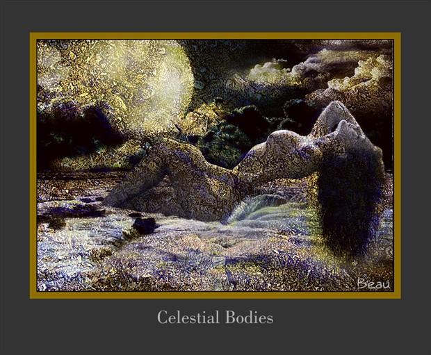 Celestial Bodies Artistic Nude Artwork by Photographer Beau