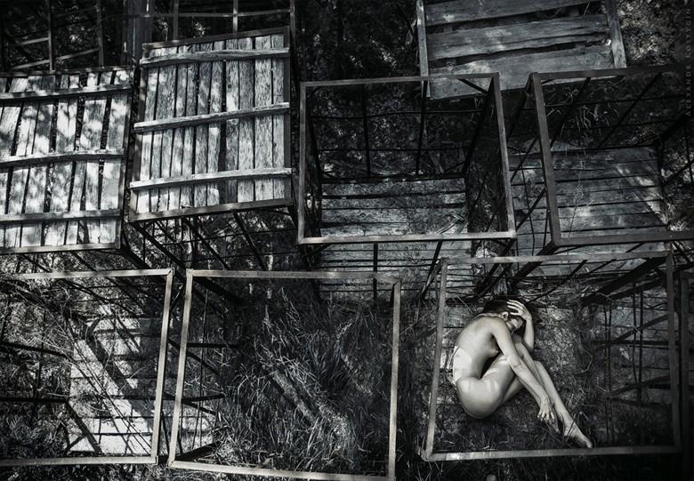 Cell Artistic Nude Photo by Photographer Alexandr  Kostygin