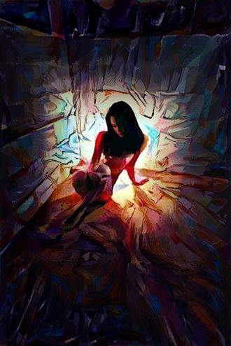Cellar Maid. Abstract Artwork by Photographer Beau