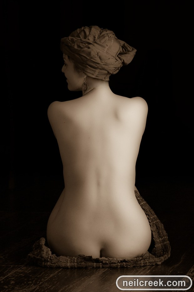 Cello Artistic Nude Photo by Photographer Neil Creek