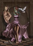 Cenerentola Artistic Nude Artwork by Artist Contesaia