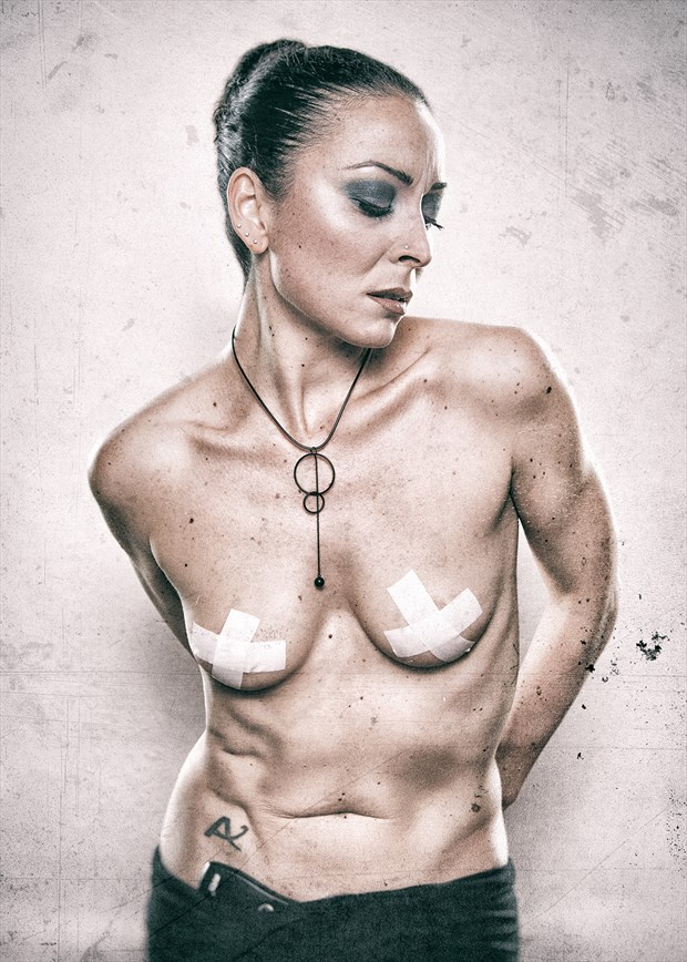 Censure Artistic Nude Photo by Model Just Ana