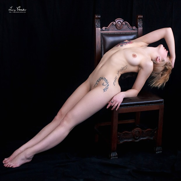 Ceska Artistic Nude Photo by Photographer Luigi Prearo