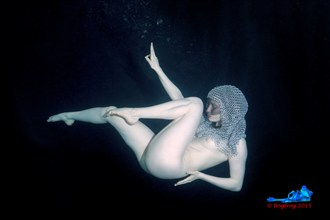 Chain Mail underwater Erotic Photo by Photographer Bogfrog