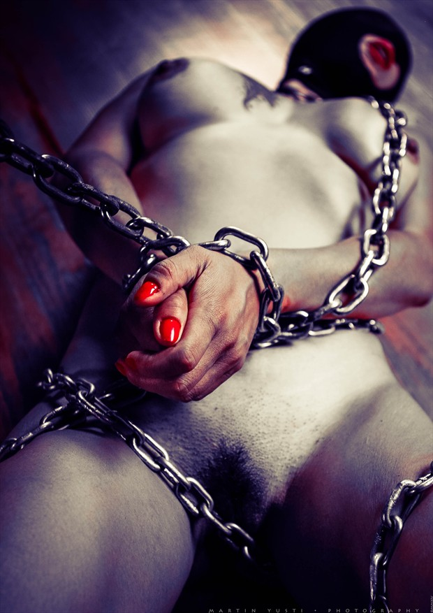 Chained Erika Artistic Nude Photo by Photographer Martin Yusti