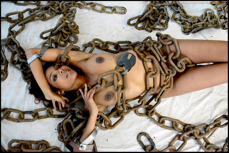Chained Heart Artistic Nude Photo by Photographer Andre E King