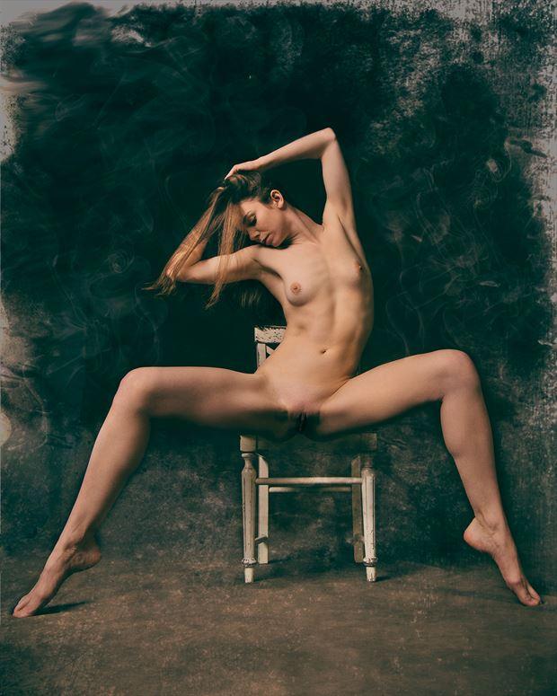 Chair Artistic Nude Photo by Photographer Fischer Fine Art