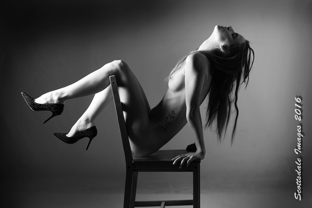 Chair Artistic Nude Photo by Photographer Scottsdale Images