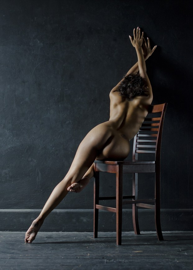 Chair Movement Artistic Nude Artwork by Photographer Alan H Bruce