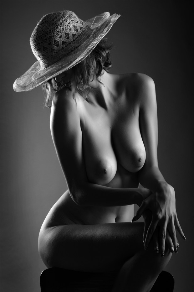Chair in B&W Artistic Nude Photo by Photographer photoduality