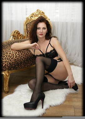 Chaise lounge  Lingerie Photo by Model Ania1
