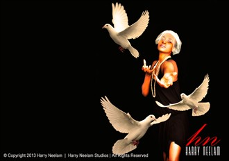 Song of peace Fantasy Artwork by Photographer Harry Neelam