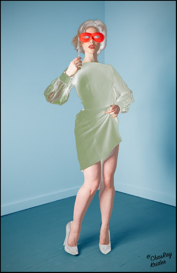 Chas Ray Krider Surreal Photo by Model Nathalia Rhodes