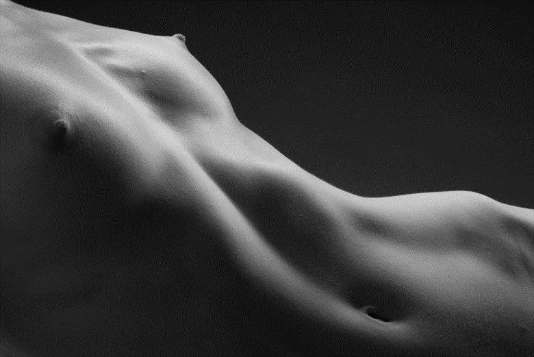 Chestscape I Artistic Nude Photo by Model Mauvais