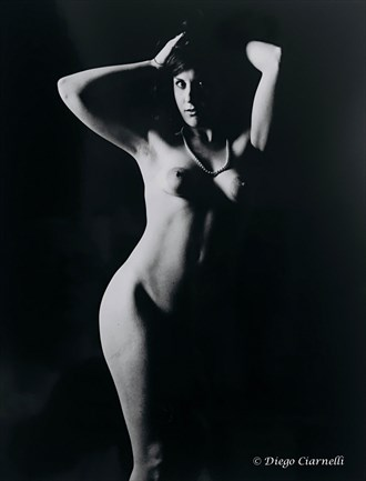 Chiara Artistic Nude Photo by Artist Diego