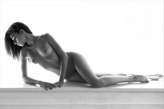 Chiara Chiaroscuro Artistic Nude Photo by Photographer Miguel Soler Roig