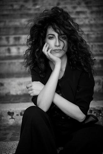 Chiaroscuro Close Up Photo by Model Alessandra Giulia