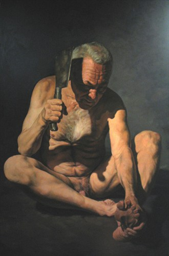 Chiaroscuro Emotional Artwork by Artist Thor