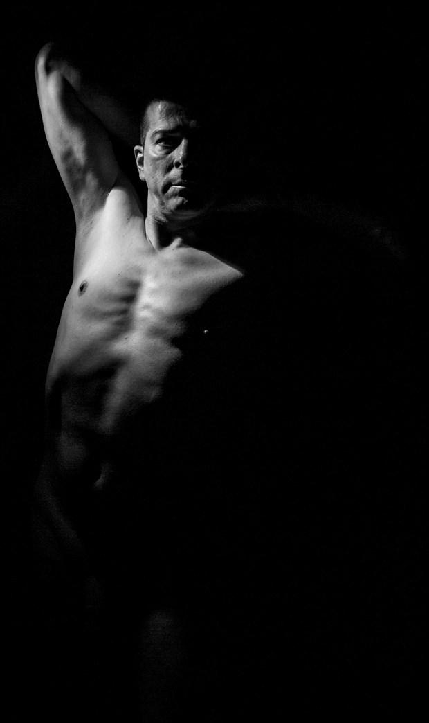 Chiaroscuro Expressive Portrait Photo by Model Rhynelmrk