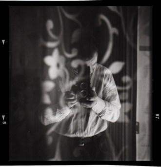 Chiaroscuro Portrait Photo by Artist AlessandroVetrugno