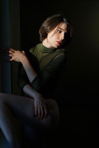 Chiaroscuro Portrait Photo by Model Opallette